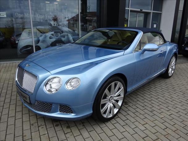 Bentley Continental GTC V 12 Cabrio
